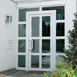 Входные двери из металлопластика